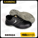 Schwarze Farben-Leder EVP-Sicherheits-Schuhe Sn5624