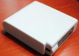 bloco da bateria do Li-íon com o painel de controle regulamentar esperto