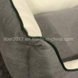 مصنع [أم] رماديّ مربّعة رف كلب سرير محبوب سرير