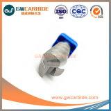 1mm-300mm HRC58 carboneto de tungsténio de alumínio 3 miolo moinhos de extremidade plana