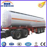 3 del árbol 42000L de carbón del acero del tanque acoplado de gasolina y aceite semi