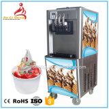 Chaud en acier inoxydable du Yogourt Crème glacée molle de la machine pour le kiosque de crème glacée