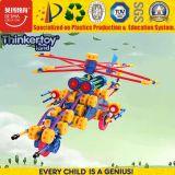 La plastica educativa DIY di nuovo disegno 2017 scherza l'aereo del giocattolo