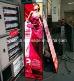 フルカラーの屋内広告媒体のビデオデジタルLEDポスター表示画面