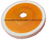 Чувствуемый полируя диск с пластичной затыловкой