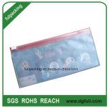 Slider impresa personalizada PVC Bolsa de cremallera de la bolsa de cosméticos bolsa de regalo