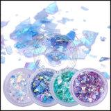 Fiocchi di vetro irregolari della decorazione del manicure di Flakies del chiodo dei Sequins di scintillio del chiodo