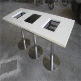 Jogo quente da tabela de jantar da tabela do potenciômetro do restaurante de pedra artificial do projeto moderno