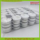 De goedkope Witte Kaarsen Tealight van 3 Uren op Bevordering