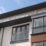 Vidrio templado de seguridad alta terraza valla para edificios comerciales