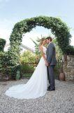 Новые платье венчания S201710 оболочки пляжа типа 2018 белое шифоновое