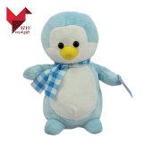 Beau jouet de peluche de pingouin de peluche de Hotsale avec l'écharpe