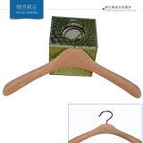 Velluto di sguardo di legno del fornitore della Cina che si affolla il gancio dei vestiti
