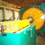 Máquina horizontal da trança da mangueira do metal