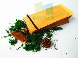 Sacchetto di imballaggio per alimenti della parte inferiore piana della carta kraft del Brown