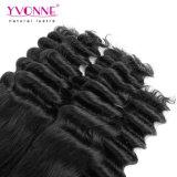 イボンヌの加工されていないバージンの毛の拡張新しい質のFumiの毛の優雅なカール