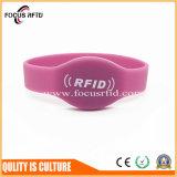 Logo de haute qualité imprimé Bracelet en silicone RFID Tag Fashion Design