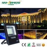 Projector da iluminação do edifício de Ce/RoHS IP65 100W