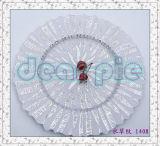 Glasaufladeeinheits-Platten-Platten-Glasplatten-Aufladeeinheits-Platten-Essgeschirr-Tafelgeschirr