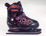 サイズの氷スケートの靴のインラインスケートを変更しなさい