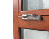 Marco de aluminio Windows de la rotura termal o Non-Thermal con la parrilla