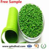 Colore verde Masterbatch dell'ABS di plastica del granello per l'iniezione/pellicola saltata