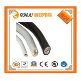 Aplicação de sobrecarga e o material de isolamento XLPE 50mm*4c XLPE antena de fio de alumínio da bainha do cabo incluído cabo ABC