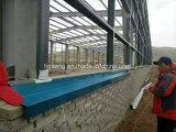 El bastidor de acero prefabricada Almacén o estructura de acero de Zambia en Africa
