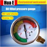 耐震性圧力メートルの液体のFillable