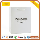 Paris-Edelstein-Schmucksache-Beutel, Geschenk-Papierbeutel, überwachen Papierbeutel