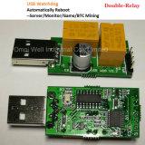 Барбос USB (компьютер переключателя/бесхозный экран автоматического рестарта голубой/минирование/игра/сервер 24 часа датчика/карточки компьютера)