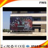 P10 Наружной Рекламы фиксированные дисплей со светодиодной подсветкой экрана