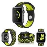 El doble caliente colorea la venda de la correa del reemplazo del silicón para la venda de Apple Iwatch