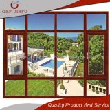 Aluminio residencial de estilo europeo Casement Window