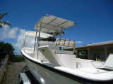 Pesca profunda da fibra de vidro dos barcos de Liya V 25FT com motor