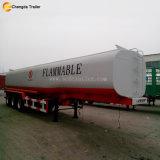 ステンレス鋼および炭素鋼の石油燃料タンクトレーラー
