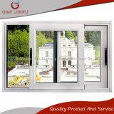 precio de fábrica de aluminio blanco edificio comercial de la ventana deslizante