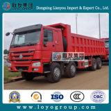 판매를 위한 중국 HOWO 8X4 팁 주는 사람 트럭