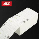 Fabricante directo de camisa Glassine Blanca resistente al agua las etiquetas de envío