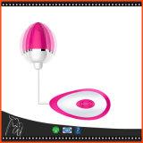 Ponto Clitoral de vibração do ponto de G da velocidade do ovo 10 do salto do vibrador elétrico para o produto da saúde do sexo fêmea