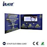 فيديو في بطاقة مع 6 بوصة [لكد] شاشة قرار عال