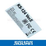 Kundenspezifisches Drucken-entfernbarer Kennsatz mit Seriennummer