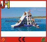 Qualitäts-aufblasbares Wasser-Plättchen, sich hin- und herbewegende Aufenthaltsraum-Insel für Verkauf