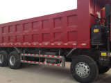 Sinotruk HOWO LHD 8X4 Lastkraftwagen- mit Kippvorrichtungverwendeter zweite Hand-LKW