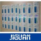 Impresión personalizada Stick en el cristal de la etiqueta Frasco de suero de la Farmacéutica