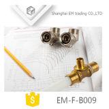 Conexão de compressão de latão para PE do acoplamento de cotovelo do tubo (EM-F-B009)