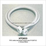 Net-Thread blanc en PVC flexible (écraser)