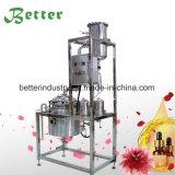 Destiladores industriais da destilação de vapor do petróleo essencial da erva