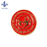 Emblema feito sob encomenda barato relativo à promoção da tecla do estanho do metal do Pin do logotipo do OEM
