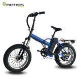 20 pulgadas plegables la bici gorda eléctrica plegable eléctrica de la E-Bici de la bici 48V 500W